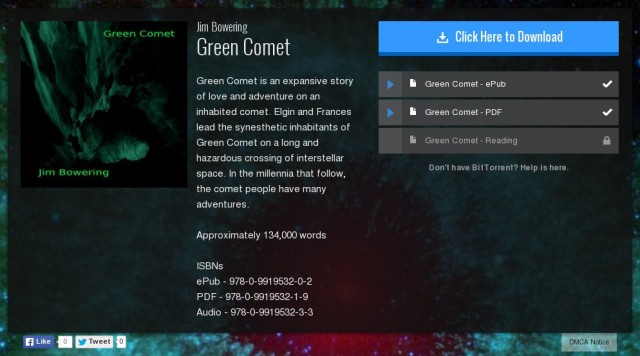 Green Comet on BitTorrent Bundles