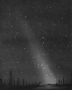 Zodiakallicht - Public domain