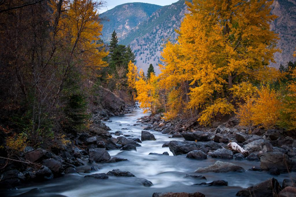 Ashnola River by Brandt Leinor