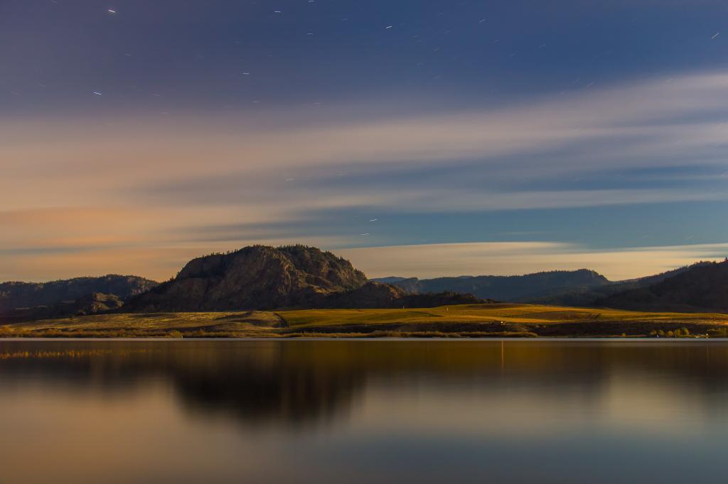 Night Lake by Jeremy Cook