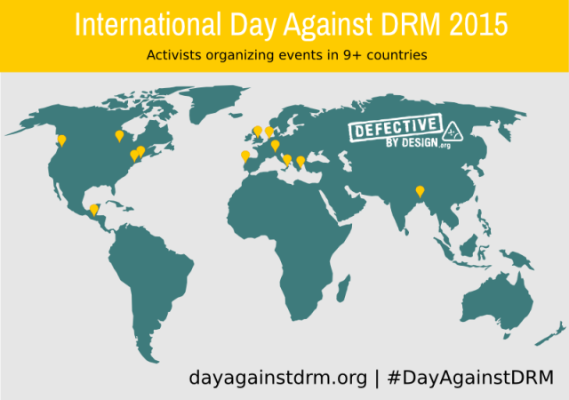 International Day Against DRM - Defective by Design CC-BY